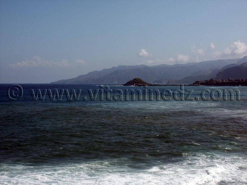 Jijel - Ziama Mansouriah, vue de la plage de Chobae