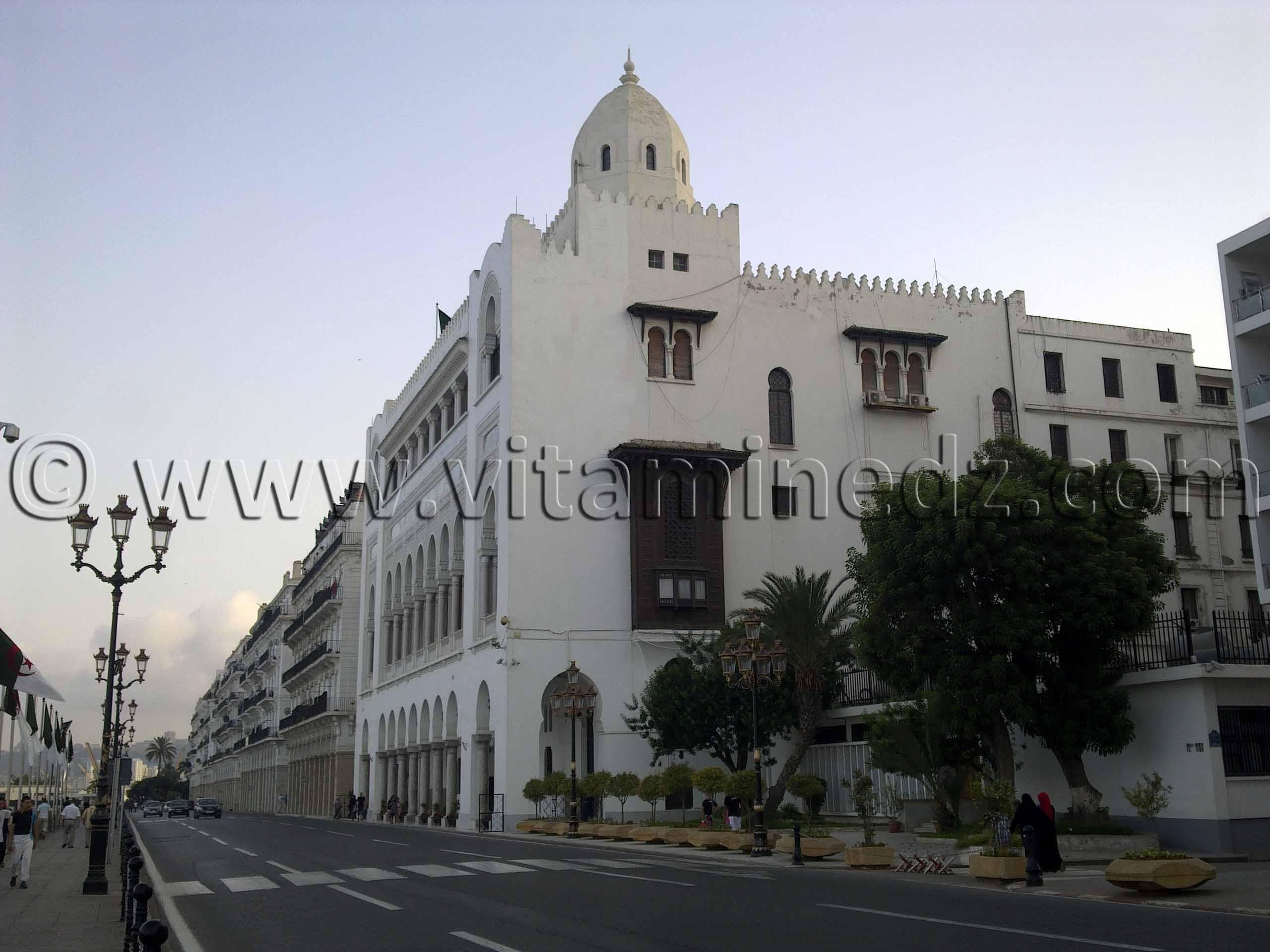 La Wilaya d' Alger la blanche