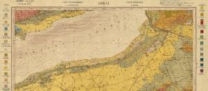 aperçu de la carte geologique de la sebkha d'oran