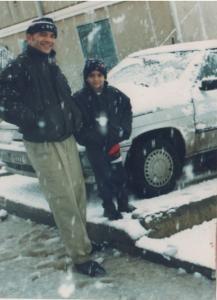 Thénia sous la neige 1996