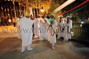 Gallal au Festivités du 1er Novembre 2013 avec la présence du nouveau wali de Tlemcen Abdelhafid Saci Ahmed