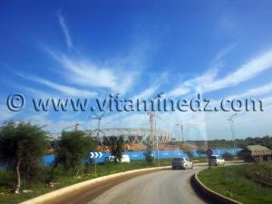 Stade olympique d'Oran en cours de réalisation