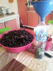 Zitoun Mtammar (Olives sechees) technique trop simple
