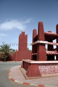 Mosquée à Timimoun - Mars 2009