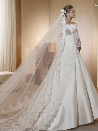robes de mariée nouvelles collections avec les accessoires de paris ...