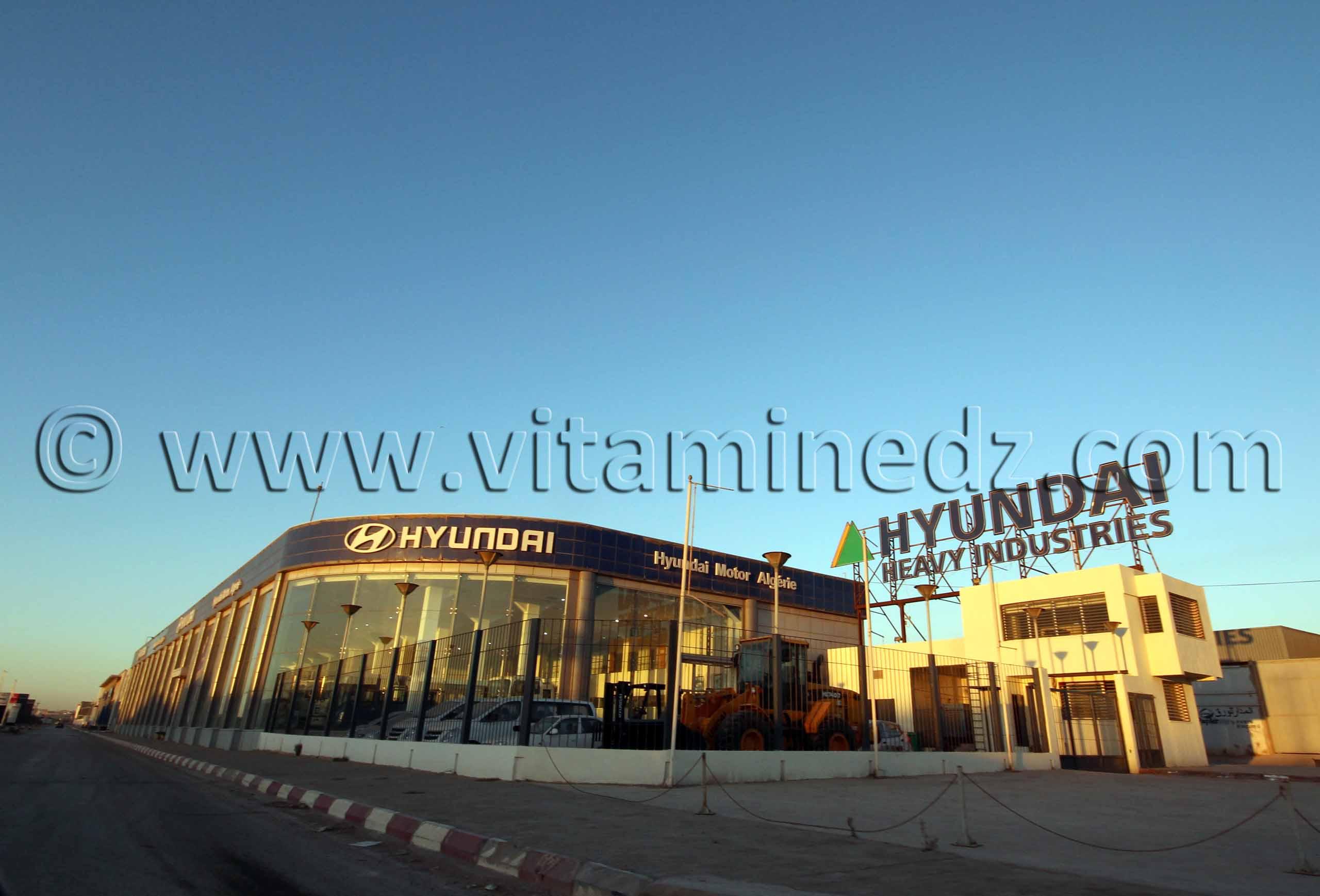 Hyundai Industries Maison, Auto, Concessionnaire à Oran