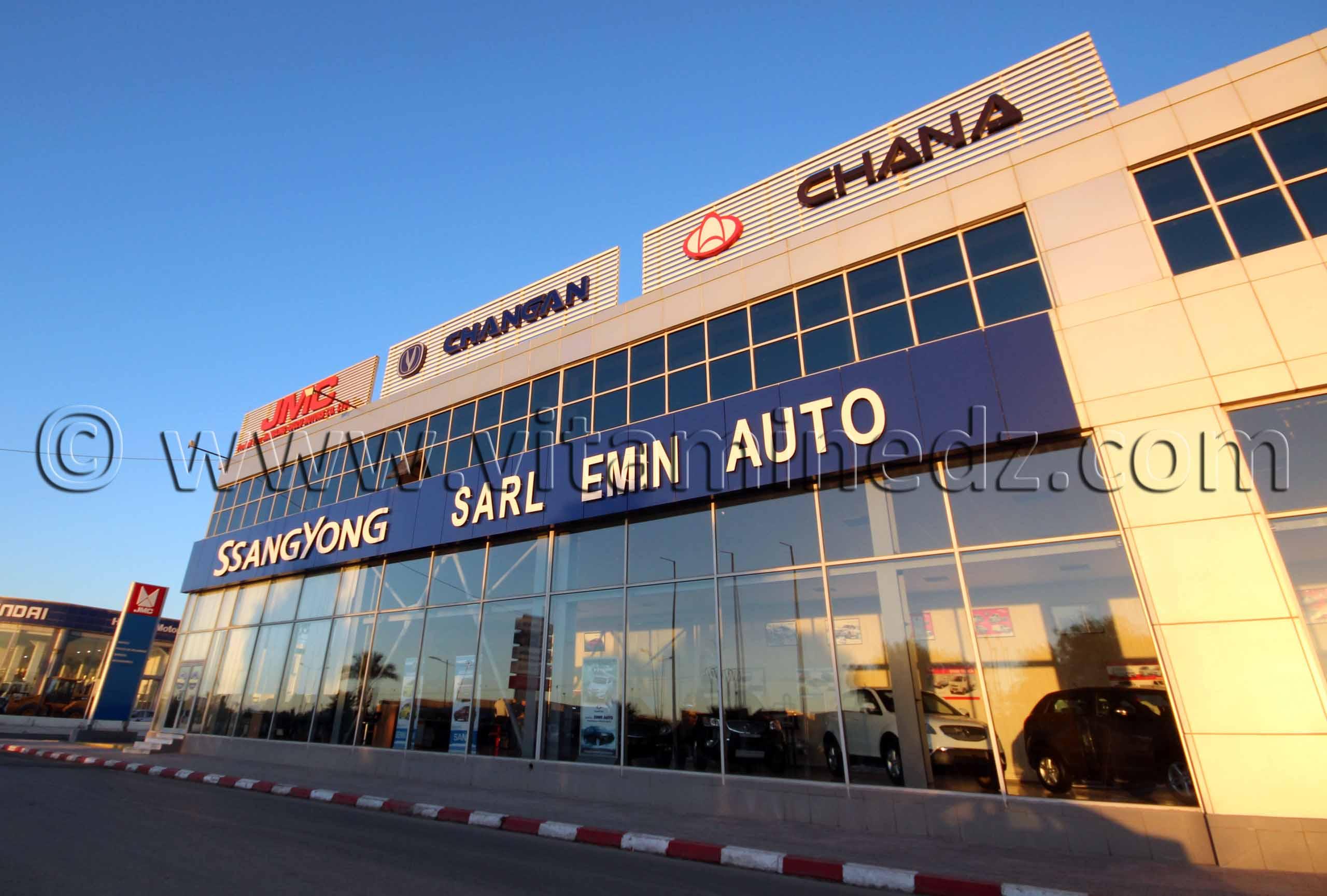 Ssang Yong, Emin Auto Maison, Auto, Concessionnaire � Oran