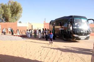 Association caritative à Guentoure Commune Ouled Aissa (Adrar)