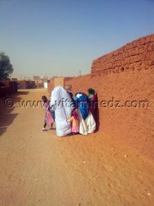 Femmes de Guentour - Commune Ouled Aissa (Adrar)