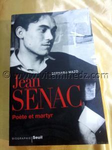 Parution du Livre Jean Senac (Poète et martyr) , de Bernard Mazo aux éditions du Seuil