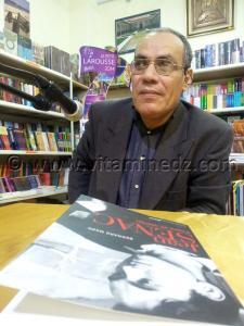 Hamid Nasser Khdja, l\'ami de Jean Senac lors du printemps des poètes à l\'Institut Français de Tlemcen