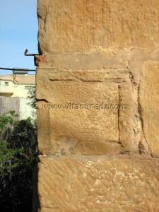 Inscriptions romaines, Minaret de la mosquée d\'Agadir à Tlemcen