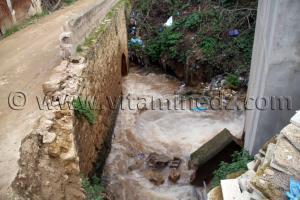 Pont au vieux quartier de Tlemcen à Agadir, une réhabilitation baclée et inachevée