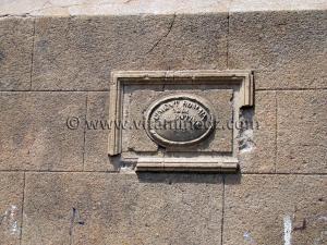 Ville d\'Oran - Inscription espagnole