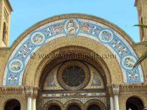 Oran - LA CATHERDALE DU SACRE-COEUR De style Romano - Byzantine