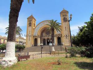 Ville d\'Oran - LA CATHERDALE DU SACRE-COEUR De style Romano - Byzantine