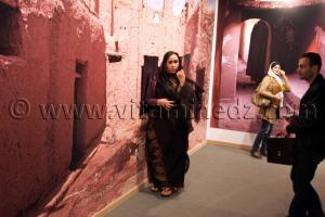 Ksour De terre et d\'argile, Exposition de Yasmine Terki (Tlemcen 2011, capitale de la culture islamique)