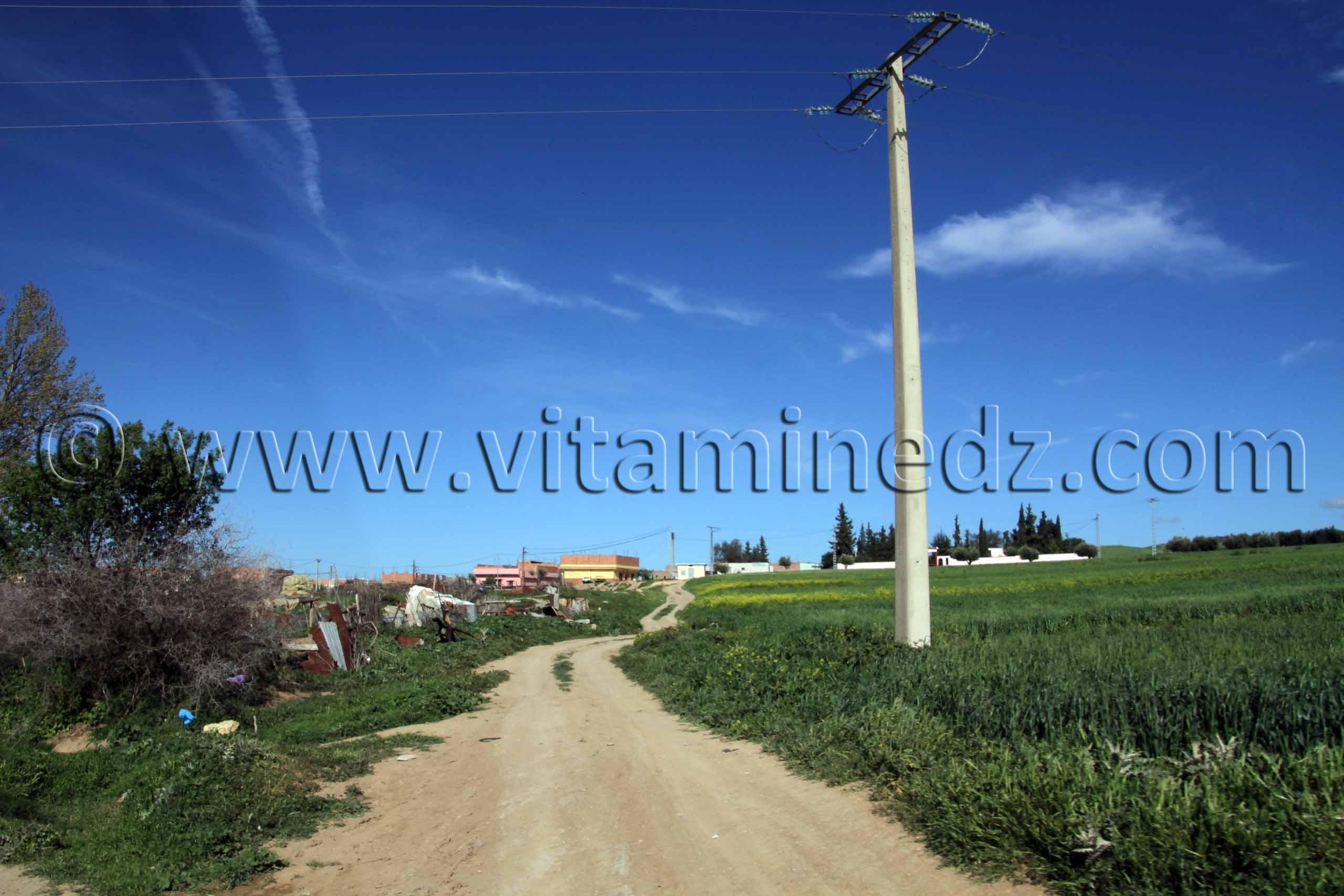 Village de Sidi Soufi � la commune de Ouled Mimoun (Lamorici�re - Altava)