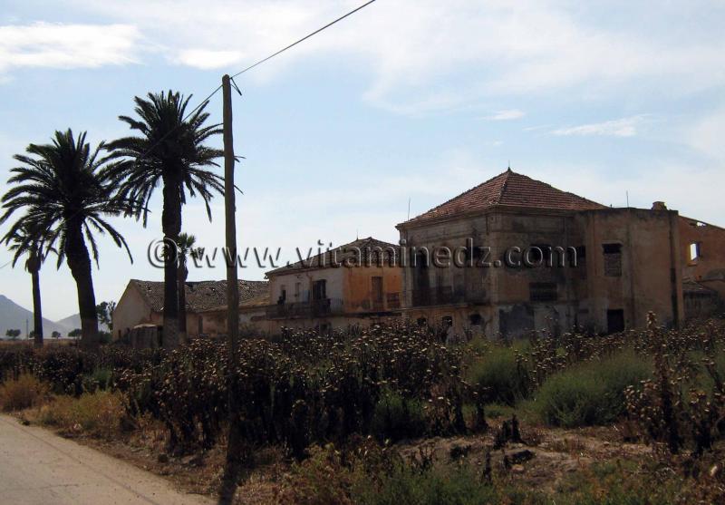 Oued El Maleh (Rio Salado), Ferme coloniale