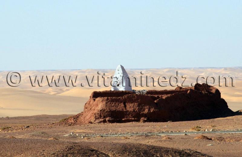 Marabout pr�s de Timimoun - Le Sahara et toutes ses richesses naturelles et culturelles, un vrai tr�sor malheureusement en d�perdition
