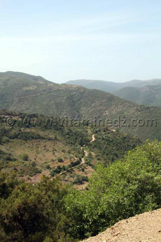 Hona�ne, ses collines qui la prot�ge