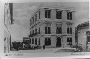 Photo Ancienne de Tlemcen Dar El Hadith