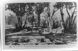 Photo Ancienne de Tlemcen Tombeau du Rabb mort en 1445