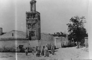 Photo Ancienne de Tlemcen Mosquée Sidi El Benna