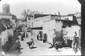 Photo Ancienne de Tlemcen Rue de Mascara