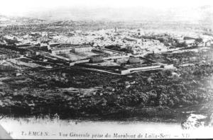 Photo Ancienne de Tlemcen Vue Generale de Tlemcen (de Lalla Settis)