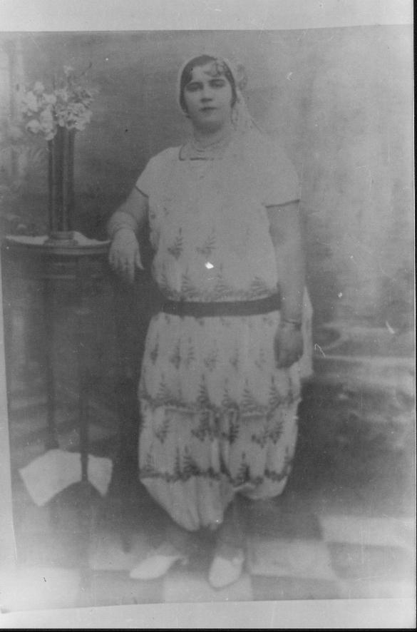 Photo Ancienne de Tlemcen Cheikha Tetma