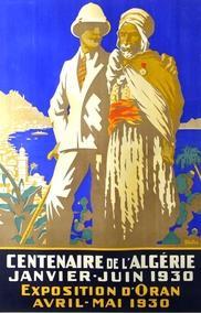 Affiche ancienne d\'Algérie, Tunisie et Maroc ... (Publicité, Propagande, Tourisme)