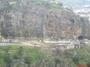 Crue de Oued Rhummel à Constantine le 11.03.2007