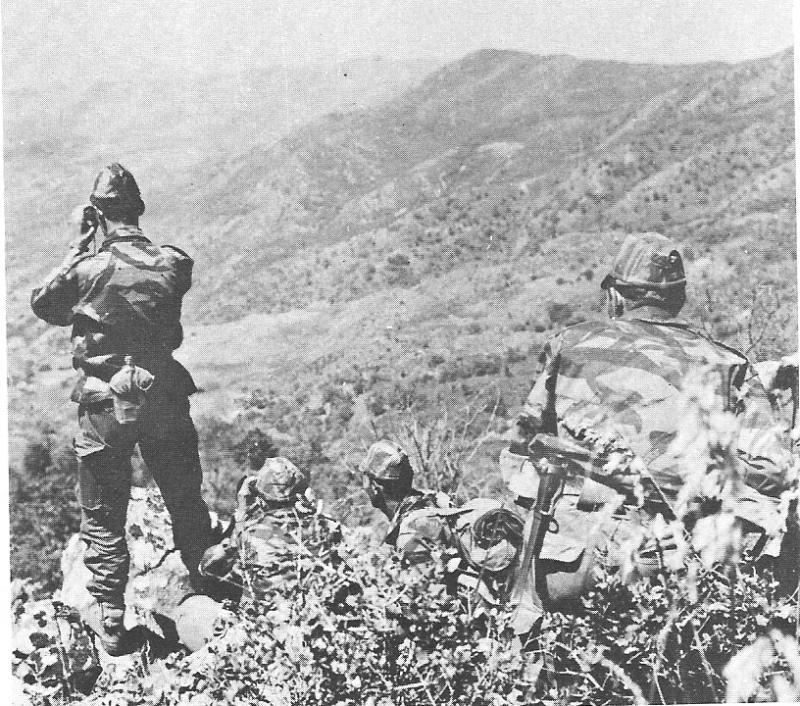 جيش من العقوات الخاصة للعدو في كمين بجبل شليا بوحمامة