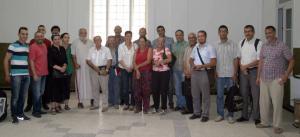 Ouled Fayet (Alger) - Assemblée de l'association Les amis de Pierre Rahbi en Algérie