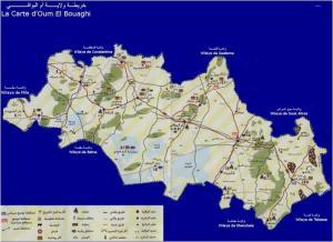 خريطة ام البواقي