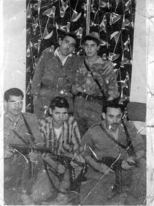 بلقاسم بيران مع سي بلهتهات حجوط 1961