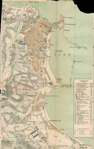 خريطة الجزائر العاصمة سنة 1888