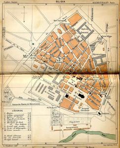 مخطط مدينة البليدة 1903