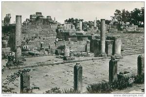 Les ruines de la basilique de Tébessa