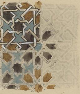 La Mosaïque de Tachfinia, mosquée de Tlemcen