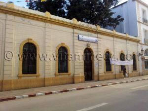 Bibliothèque Fenjel Mohamed à Cherchell (Caesarée)