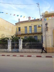 Ancienne maison coloniale à Cherchell (Caesarée)