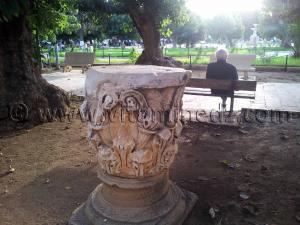 Pièces romaines à Cherchell (Caesarée)