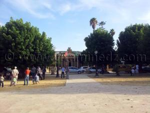La place des Martyrs de Cherchell (Caesarée)
