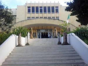 Entrée du Musée de Cherchell (Caesarée)