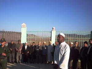 مناسبة الذكرى الستون لإندلاع ثورة التحرير مقبرة الشهداء