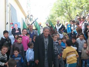 الحاج عمارزايدي يشرف على الاحتفالات بيوم التفاح الذي تحتضنه بلدية يابوس