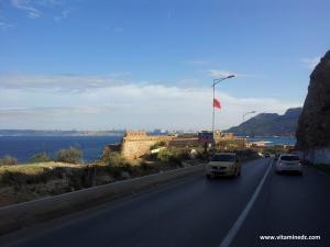 Le Fort de Mers-el-Kébir a joué un grand rôle dans les attaques contre Oran