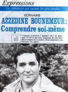 PHOTO Azzédine Bounemeur